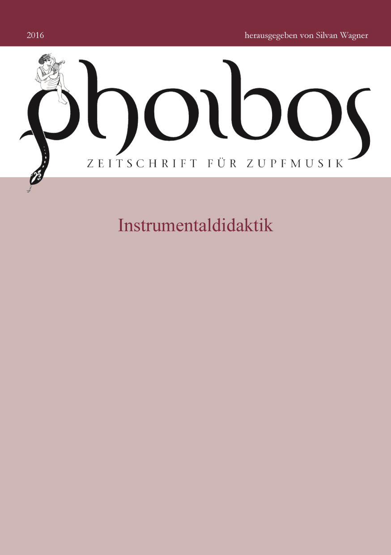 Phoibos 2016 Instrumentaldidaktik